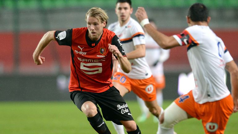 Ola Toivonen: Now plying his trade in Ligue 1