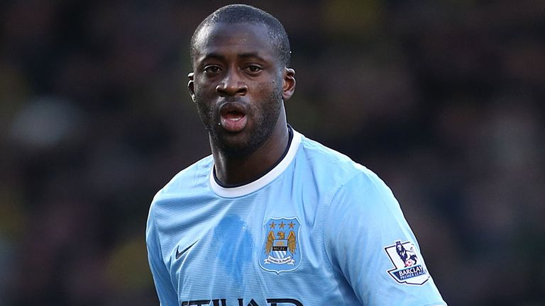 Yaya Toure: No failure if Manchester City only win one trophy this season
