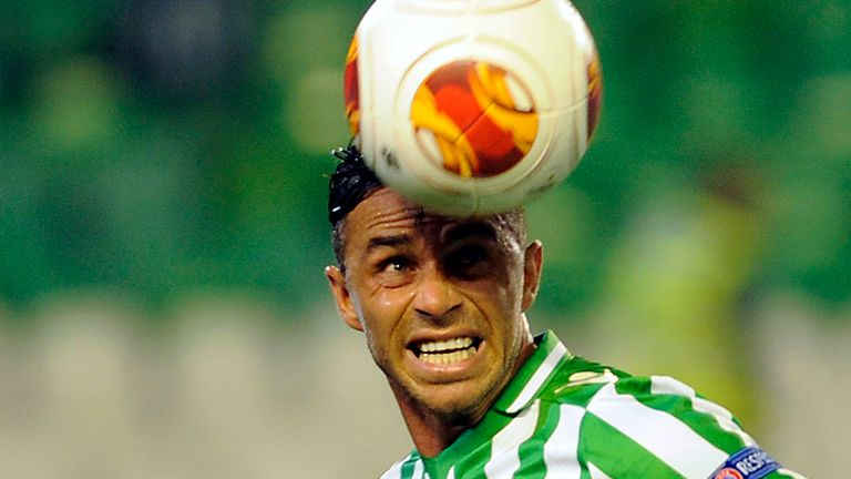Ruben Castro: Planning to stay at Real Betis even if they are relegated