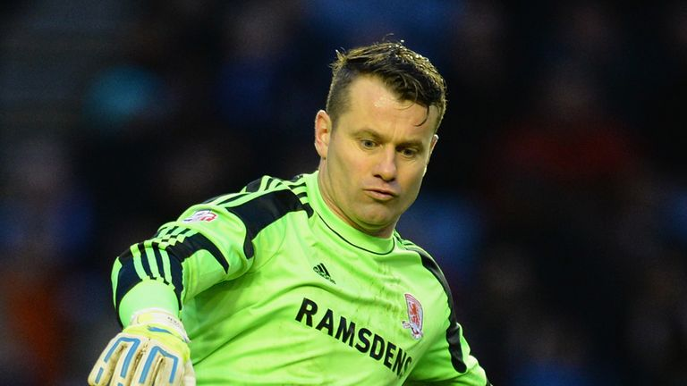 Shay Given: Helped Boro to a goalless draw at Doncaster