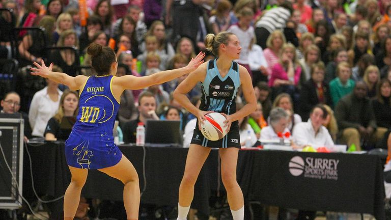 Tamsin Greenway (R) is excited for the Superleague's return