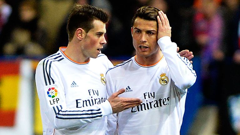 Gareth Bale (l) and Cristiano Ronaldo: Both fit for the Champions League final