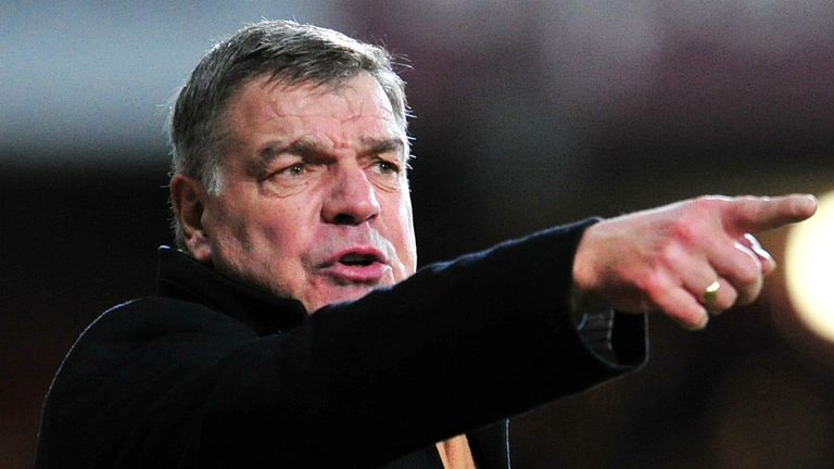 Sam Allardyce; Delighted with West Ham's recent form