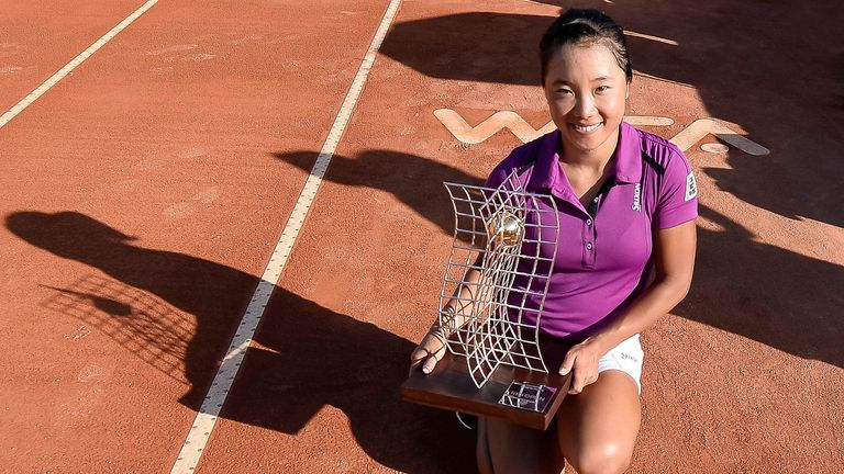 Kurumi Nara: Became the ninth player from Japan to win a WTA title