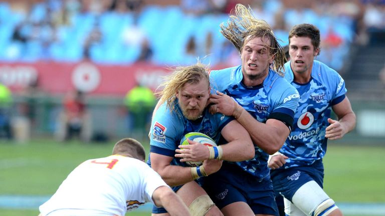 Potgieter in action for the Bulls