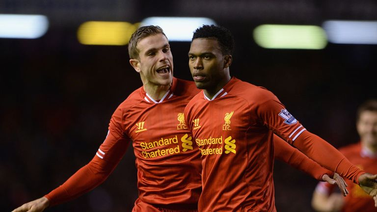 Jordan Henderson and Daniel Sturridge: Seven points from title