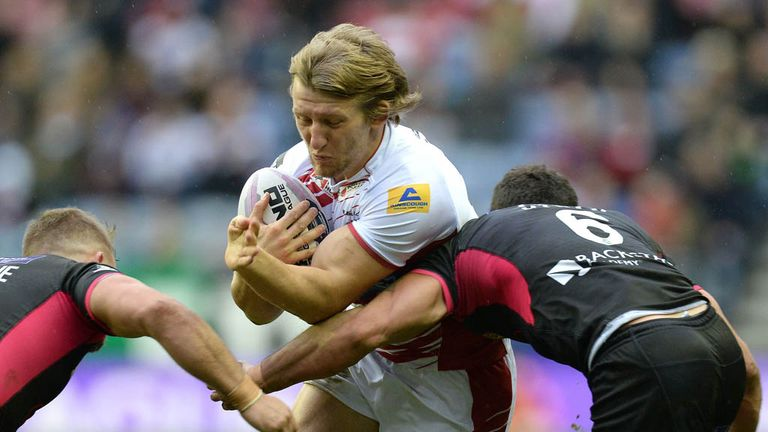 Logan Tomkins: Staying with Salford for rest of season