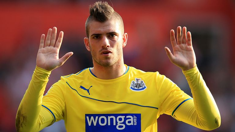 Davide Santon: Had only just returned for Newcastle after a bad knee injury