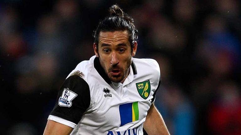 Jonas Gutierrez: Set to return for Norwich after injury