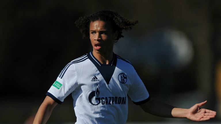 Leroy Sane: Youngster awarded a two-year deal with Schalke