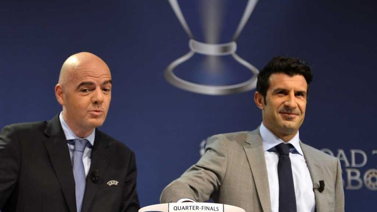 Luis Figo did Man Utd no favours in Nyon, says Jamie Redknapp