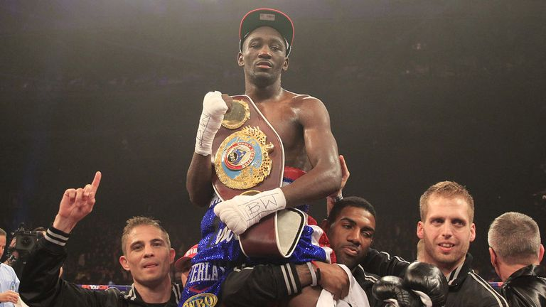 Terence Crawford: Relieves Ricky Burns of his WBO title (Pic Lawrence Lustig)