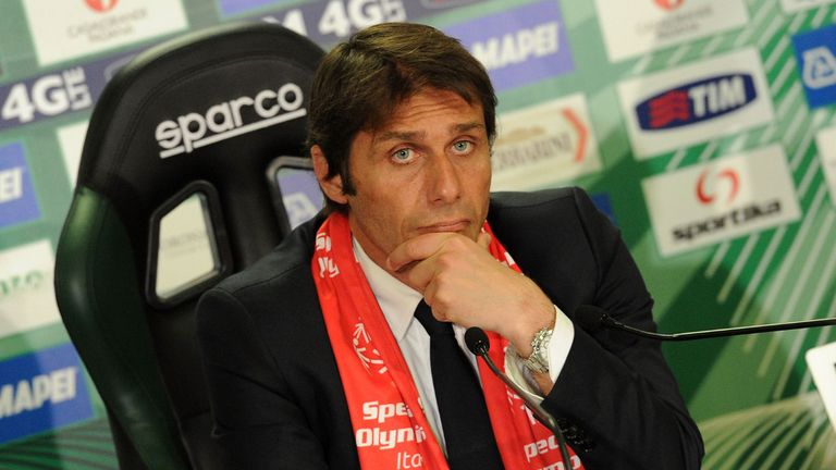 Conte had success at Juventus before becoming Italy manager after the World Cup in 2014
