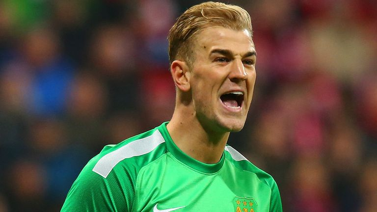 Joe Hart has started the season well for Manchester City