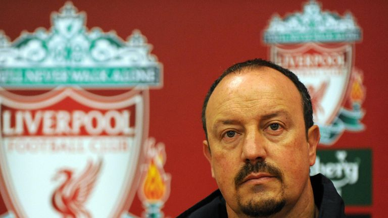 Benitez's infamous press conference in January 2009 has often been blamed for the club's failure to win that season's title