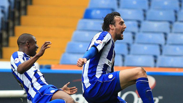 Atdhe Nuhiu scored twice for the hosts