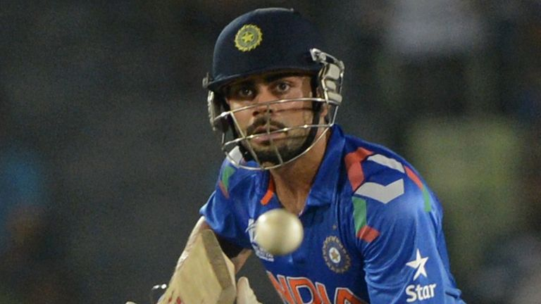Virat Kohli was India's hero as they made the ICC World T20 Final