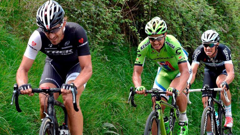 Cancellara made his decisive move 17km out