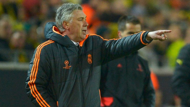 Carlo Ancelotti: Disappointed with Real Madrid's 2-0 loss at Borussia Dortmund but pleased to be in the semi-finals