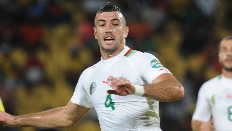 Algeria defender Essaid Belkalem
