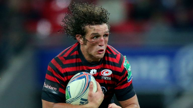 Jacques Burger: Claimed an Aviva Premiership record when he made 37 tackles against Exeter Chiefs