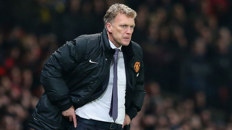 David Moyes was sacked by Manchester United in 2014