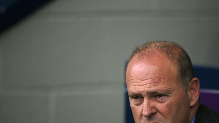 West Bromwich Albion's Spanish manager Pepe Mel looks on ahead of the English Premier League football match between West Bromwich Albion and West Ham Unite