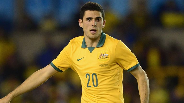 Tom Rogic: Ruled out for the remainder of 2014