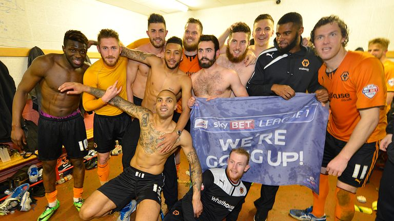 Wolves: Celebrate winning promotion to the Sky Bet Championship