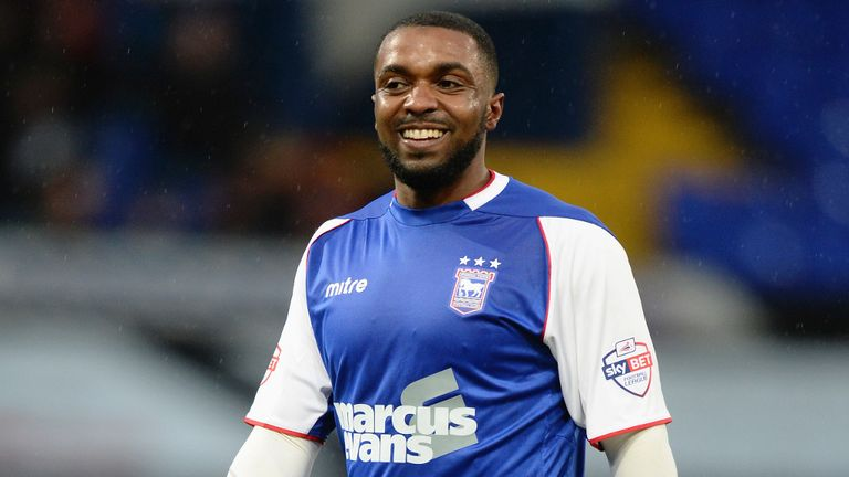 Sylvan Ebanks-Blake: Training with Brentford
