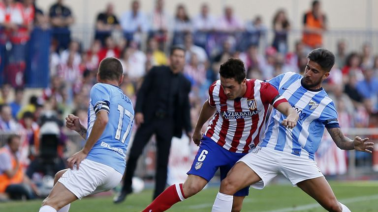 Koke bids to find space