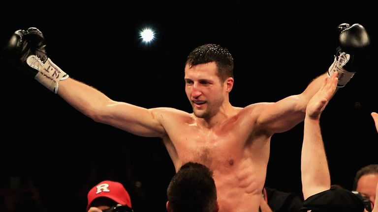 Froch: Hailed by Joe Gallagher as 'a great ambassador'
