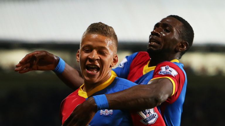 Dwight Gayle helped to inspire Palace's comeback against Liverpool in 2014