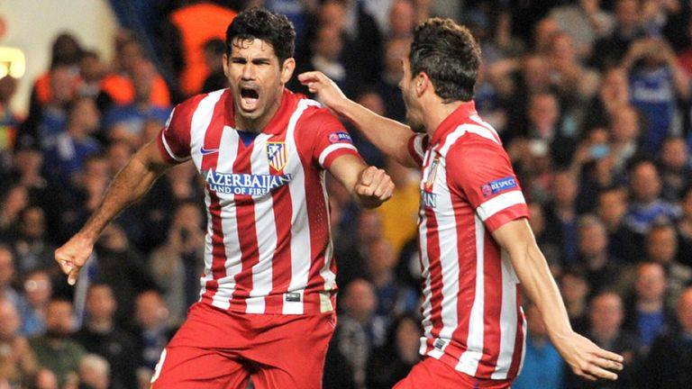 Diego Costa: Expected to join Chelsea early next week