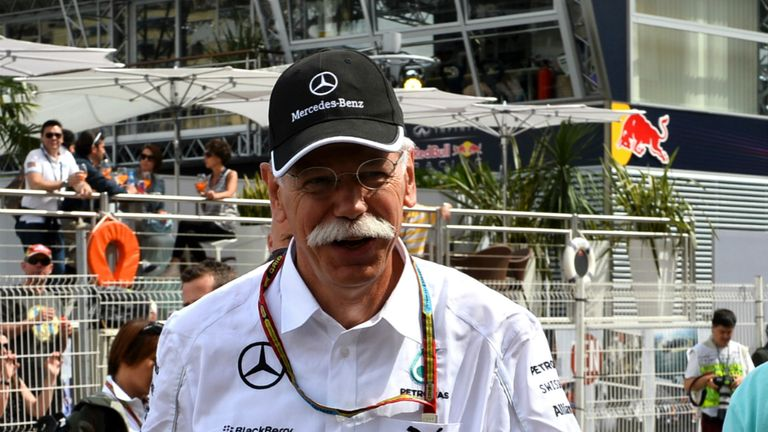 In F1 for the long-run: Dr Dieter Zetsche