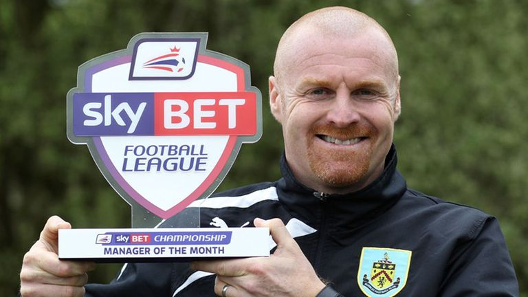 Sean Dyche: More success for Burnley boss