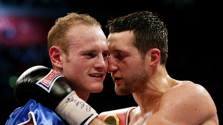 Carl Froch wants George Groves to win his old WBC world title