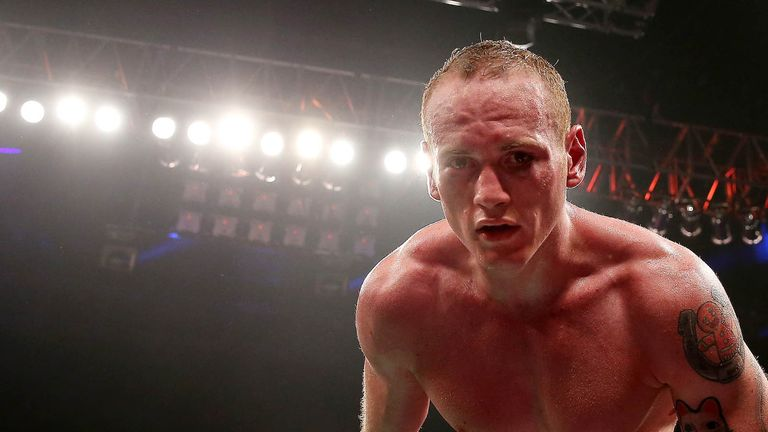 George Groves: Hopes to land another world title shot