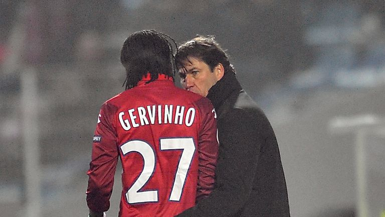 Rudi Garcia has been able to bring the best out of Gervinho at Lille and Roma