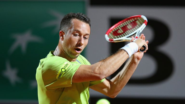 Philipp Kohlschreiber: Ended a two-year title drought with victory in Dusseldorf in May