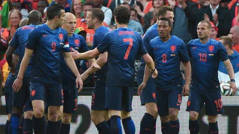 Robin van Persie: Holland captain scored the only goal against Ghana