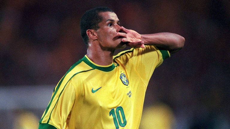 Rivaldo was one of Brazil's greatest players