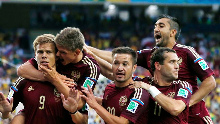 Aleksandr Kokorin: Broke the deadlock, but Russia could not hold on