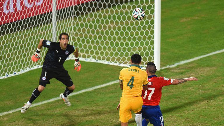 Tim Cahill: Hauled Australia back into the tie