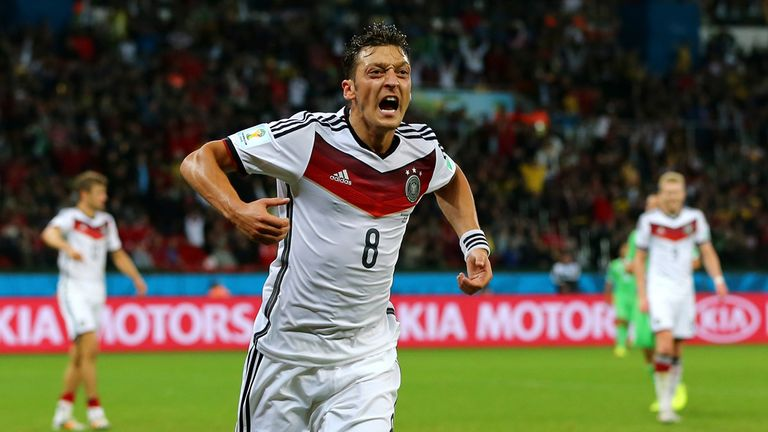 Mesut Ozil: Added late second