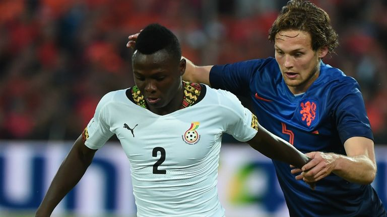 Samuel Inkoom: Being tracked by Everton and other clubs