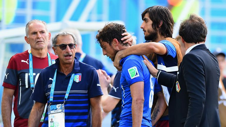 Claudio Marchisio: Received his marching orders in a controversial game