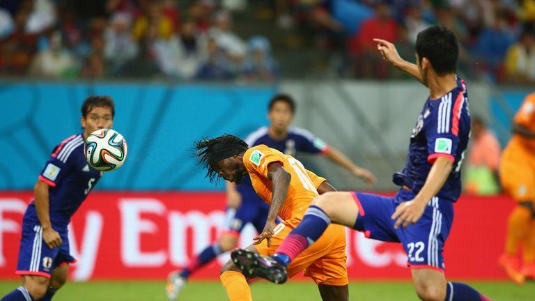 Gervinho scores Ivory Coast's winner