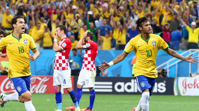 Neymar was the man of the moment
