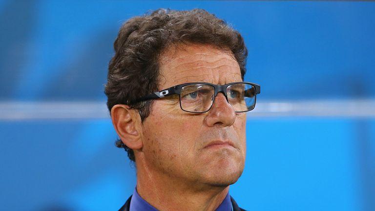 Fabio Capello: Russia coach